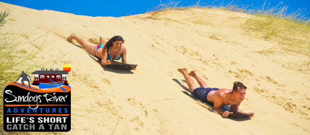 SUNDAYS RIVER ADVENTURES - Sandboarding & Watersports